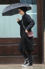 Rooney Mara Seen leaving her hotel in Tribeca, New York City