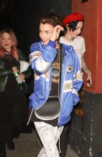 Ruby Rose Was seen leaving the Cafe Hotel during a night out in Hollywood