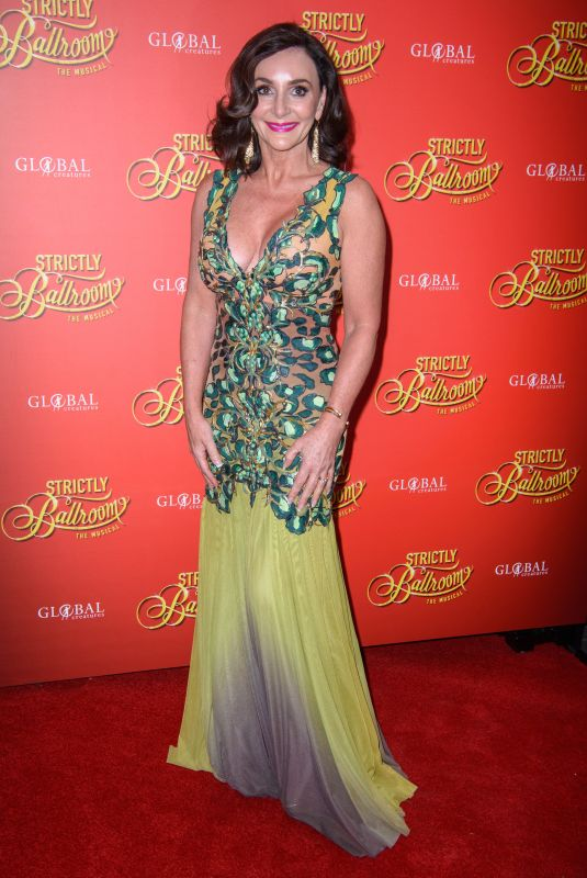 Shirley Ballas On the red carpet at the Strictly Ballroom press night at the Piccadilly Theatre in London