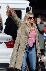 Sienna Miller Is seen hailing for a taxi today in New York