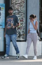 Sofia Richie Grabs coffee with a friend in West Hollywood
