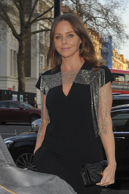 Stella McCartney Seen at Fashioned from Nature private view in London