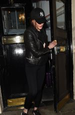 Suranne Jones Leaves the Haymarket Theatre following her latest performance in new play Frozen