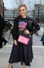 Tallia Storm Attends the Bluebird Cafe White City launch party in London