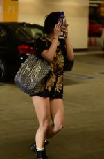 Vanessa Hudgens Hits the gym in LA