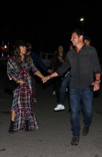 Vanessa Lachey Has a night at The Forum in Inglewood