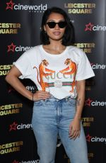 Vanessa White At Cineworld Leicester Square - relaunch party, London