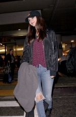 Victoria Justice Seen at Los Angeles International Airport