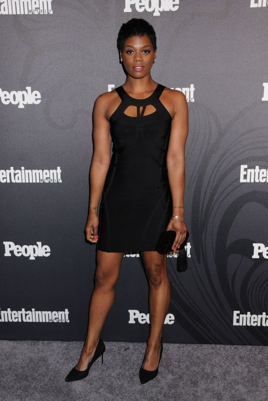Afton Williamson At Entertainment Weekly and People Upfronts Party, Bowery Hotel, New York