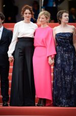 Alba Rohrwacher At Premiere of Lazzaro Felice During 71st Cannes Film Festival