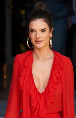 Alessandra Ambrosio Attends Autumn/Winter Xti collection launch in Madrid