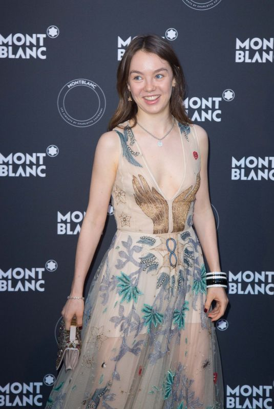 Alexandra De Hannover At MontBlanc Dinner During the 71st Cannes Film Festival