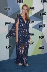 Amy Acker At 2018 Fox Network Upfront at Wollman Rink, Central Park in New York