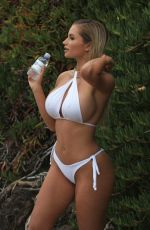 Amy Lee Summers In bikini in Malibu