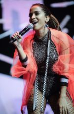 Anitta During the performance at LOS40 spring POP