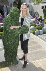 Anneka Rice At Chelsea Flower Show in London