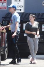 Ariel Winter Spotted leaving Gray Studio after a session in Encino