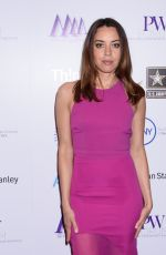Aubrey Plaza At Moves Power Women Forum in New York