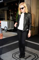 Ava Phillippe Leaving her New York hotel