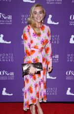 Betsy Wolfe At Monte Cristo Awards in New York