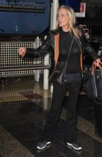 Bo Derek Looks gorgeous as she lands in Washington