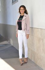 Brooke Burke-Charvet On her way to the Steve Harvey Show in Beverly Hills