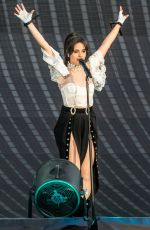 Camila Cabello Opens for Taylor Swift at the Rose Bowl in Pasadena