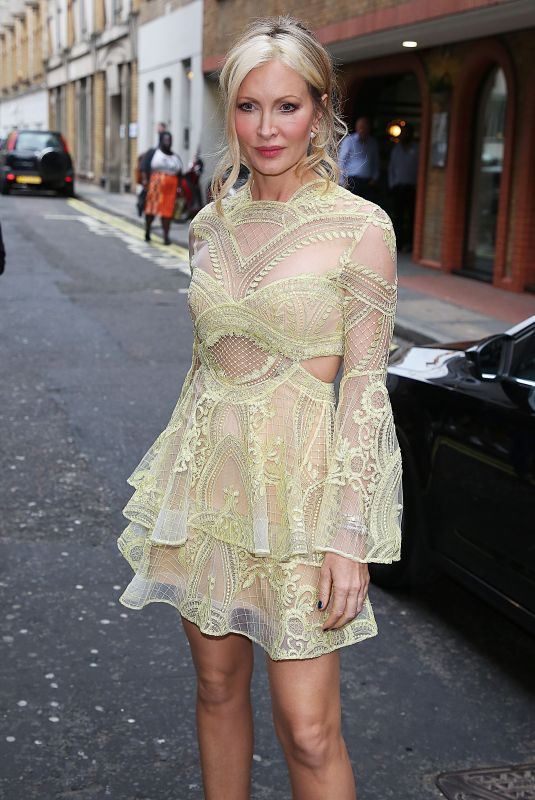 Caprice Bourret At Hello! Magazine x Dover Street Market 30th anniversary party, London, UK