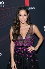 Carmen Villalobos At 2018 Telemundo Upfront at the Park Avenue Armory, New York