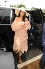 Chanel Iman Attending the 143rd Preakness Stakes at the Primlico Race Course