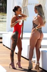 Chantelle Connelly Spotted with Lois Molloy in Marbella