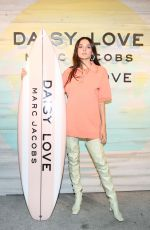 Charlotte Lawrence At Marc Jacobs Fragrances Celebrates the Launch of Daisy Love, Santa Monica