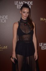 "Charlotte Lebon At Photocall of the movie ""The world is yours"" on the Magnum beach"