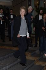 Charlotte Rampling At The marriott Hotel in Cannes