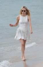 Chloe Sevigny At photoshoot on the beach during the 71st annual Cannes Film Festival,France