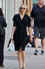 Chloe Sevigny Out and about, New York
