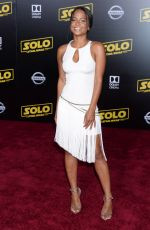 "Christina Milian At ""Solo: A Star Wars Story"" World Premiere in Los Angeles"