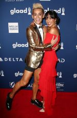 Courtney Reed At 29th Annual GLAAD Media Awards, Arrivals, New York