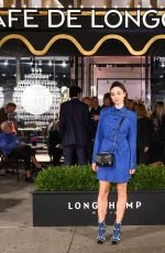 Crystal Reed At Longchamp Fifth Avenue opening in NY