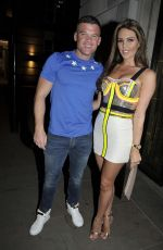 Danielle Lloyd At Night Out in Manchester