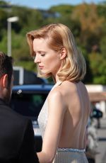 Daria Strokous Heading to an even at the Cannes Film Festival