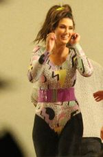 Delta Goodrem Attends dance rehearsals for the voice in Sydney
