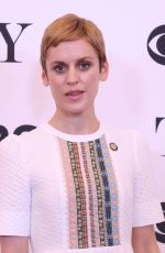 Denise Gough At Tony Awards Nominees photocall in NY
