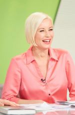 Denise Van Outen At Loose Women TV Show in London