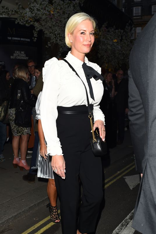 Denise Van Outen At The Connor Brothers Call Me Anything But Ordinary private view, London