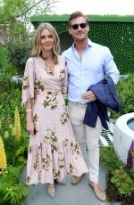 Donna Air At Chelsea Flower Show, Press Day, London, UK