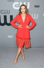 Elizabeth Gillies At CW Network Upfront Presentation in New York City