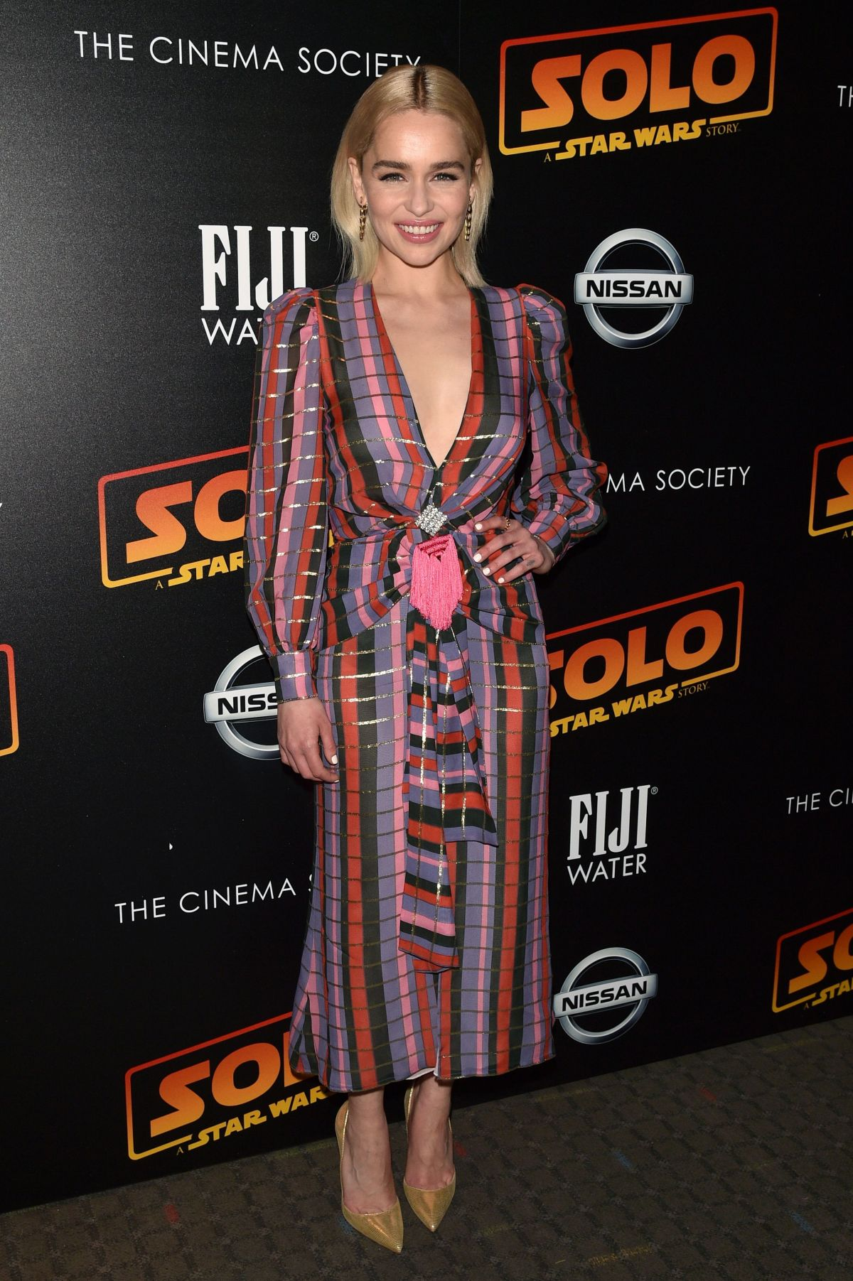 Emilia Clarke At 'Solo: A Star Wars Story' film premiere