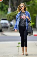 Emily VanCamp During an outing in Los Angeles
