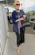 Eva Herzigova Arrives at Nice airport during the 71st Cannes Film Festival